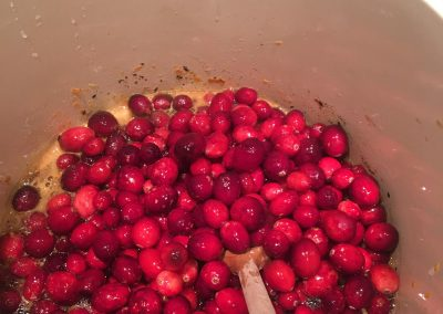 Cranberry compote - 4